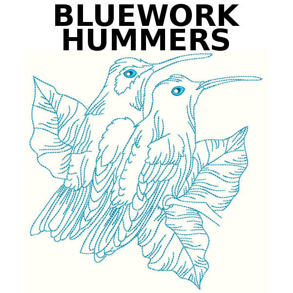 Bluework Hummers