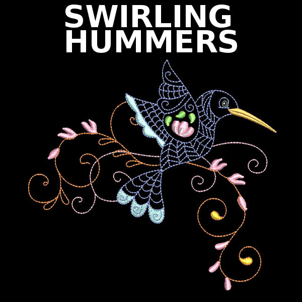 Swirling Hummers