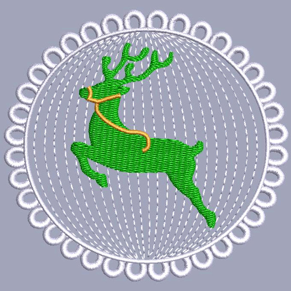 Christmas Medallion 2