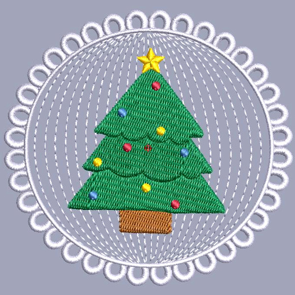 Christmas Medallion 3